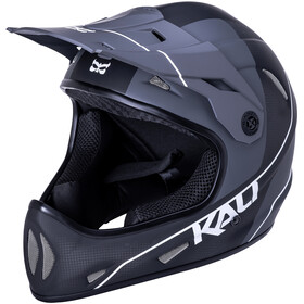 Kali Alpine Carbon Pulse Casque Homme, matt black/white